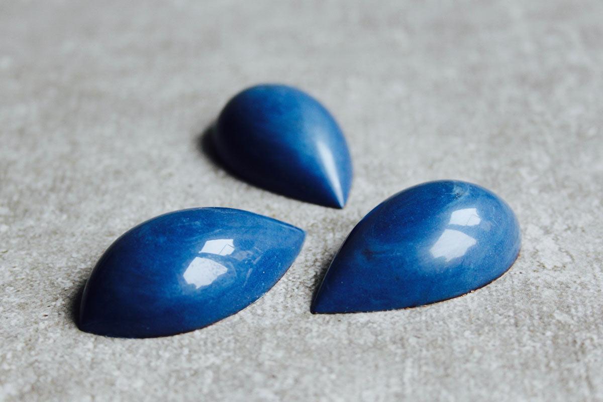 Blaubeer-Veilchen Praline